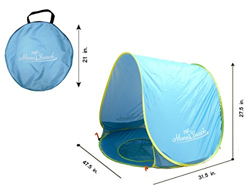 Baby Beach Tent Pop Up Portable Shade Pool UV Protection Sun Shelter for Infant  sc 1 st  eBay : baby shade tent uv protection - memphite.com