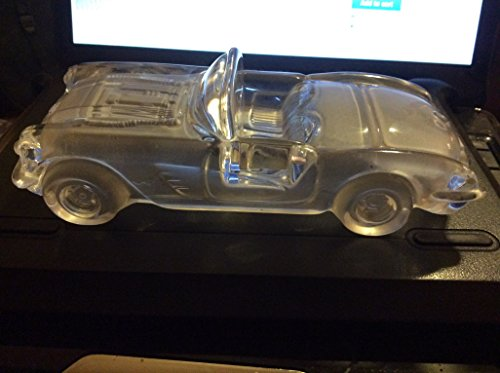 Mikasa Leaded Glass Corvette Convertible Replica / Paperweight