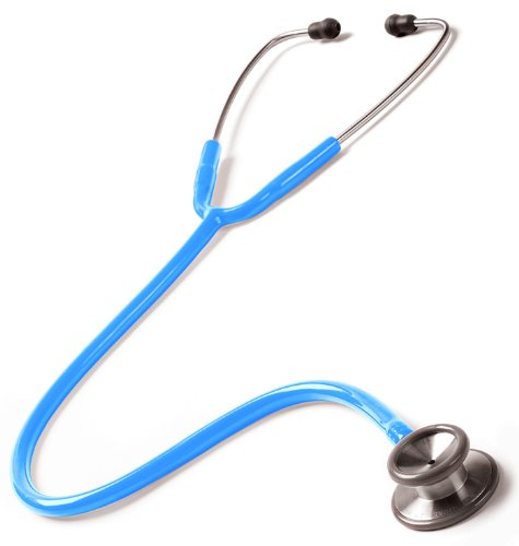Prestige Medical 126 Clinical I Stethoscope, Neon Blue