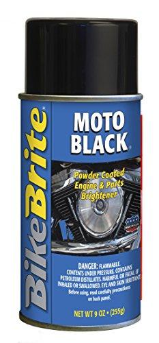 Powder Coat Bike Frame - Bike Brite MC53000 Black Powder Coated Engine and Wheel Cleaner, 9 fl. oz.