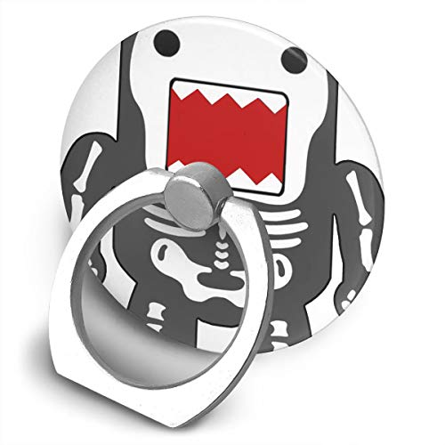 - Funny Cool Domo-kun Skeleton Cell Phone Finger Holder 360° Rotation Ring Stand Grip for iPhone, Samsung and Other Android Smartphones