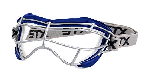 STX Lacrosse Women's 4Sight Focus Goggles, Royal Blue/White