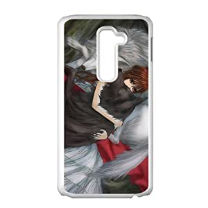 High Quality TPU Case Cover de Vampire Knight de Wolf de Girl de redhead Custom Perfect Case for LG G2
