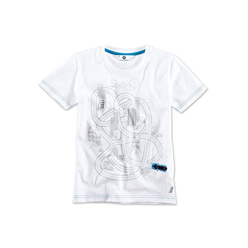 BMW i Kids' interactive T-shirt white - Child 4