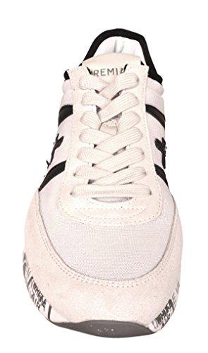 Hanzo Sneakers Modello Bianco Uomo Nera e Bianca PREMIATA Scarpa HANZO2908 Sporco AqgUw