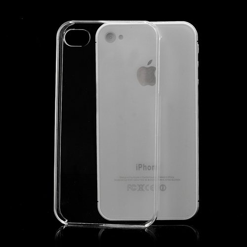 iProtect Apple iPhone 4, 4s Hülle Clear Crystal Soft Case TPU Schutzhülle transparent