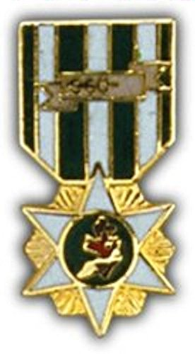 Vietnam RVN Campaign Mini Medal Small Pin