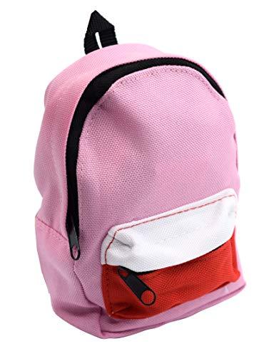 티크 튜닝 지판 배낭 케이스-핑크-5X3.75-미니어처 캔버스 가방 튜닝 여행 및 스토리지