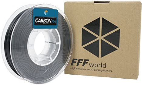 FFFworld 250 gr. Carbon PLA 1.75 mm: Amazon.es: Electrónica