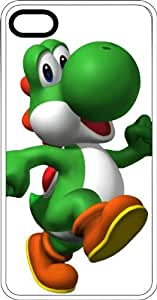 Yoshi Strolling To Eat Some Apples White Plastic Case for Apple iPhone 5 or iPhone 5s