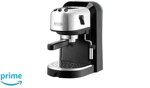DeLonghi EC 271.B - Cafetera de espresso manual, 2 tazas, 1 l ...