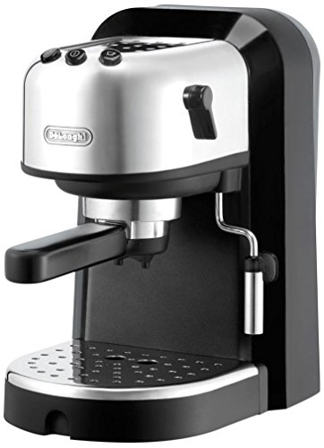 DeLonghi EC 271.B – Cafetera de espresso manual, 2 tazas, 1 l, 1100 W