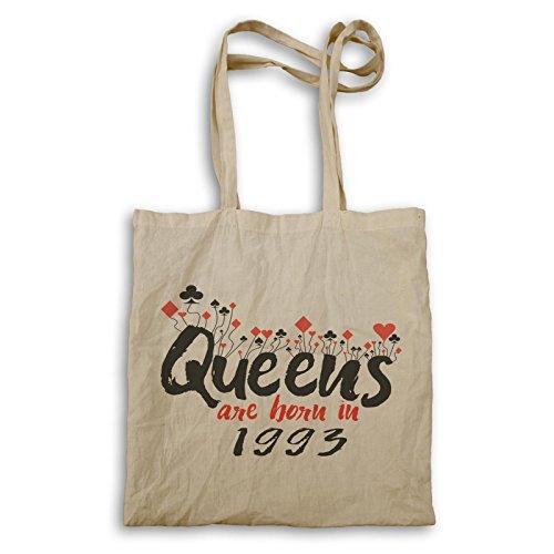 Königinnen werden 1993 geboren Tragetasche d208r