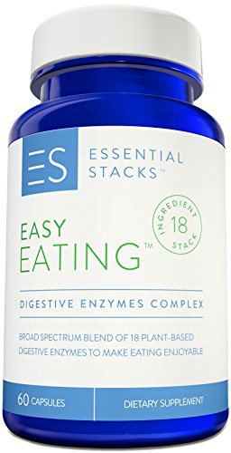 18 Digestive Enzymes In 1 – Gluten Free, Plant Based & Broad Spectrum – Smartly Formulated So You Can Digest ALL Food Groups.