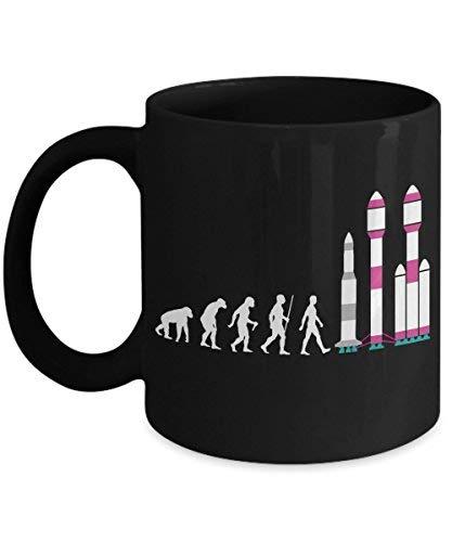 Falcon Rocket Mug - Evolution Gift - Friend - Novelty Coffee Ceramic Tea Cup