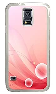 Samsung Galaxy S5 Beautiful Cherry Color Background Image PC Custom Samsung Galaxy S5 Case Cover Transparent