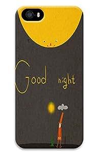 iPhone 5 5S Case 3D Customized Unique Print Design Good Night iPhone 5/5S Cases