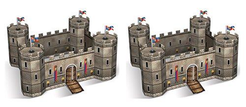 Beistle 59240 Castle Centerpieces 14.5