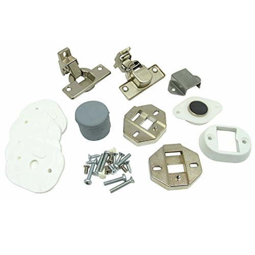 Brand New World 016625 SG12TXUK SGE12XUK(NW) Washing Machine Cupboard Door Decor Hinge Installation Kit by Brand New World