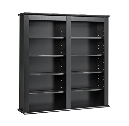 Black Wall Storage Cabinet - 7