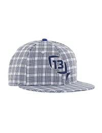 "13 Pesca ""acero azul Flat Brim Cap"