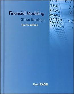 amazon financial modeling the mit press simon benninga excel
