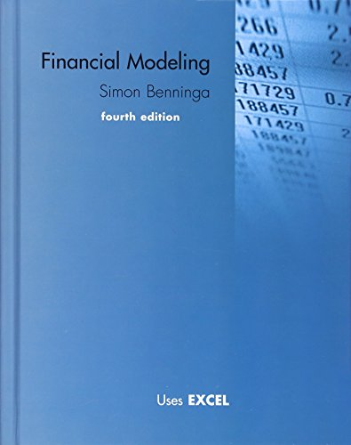 Financial Modeling (The MIT Press) (To Run An Application In Visual Basic)