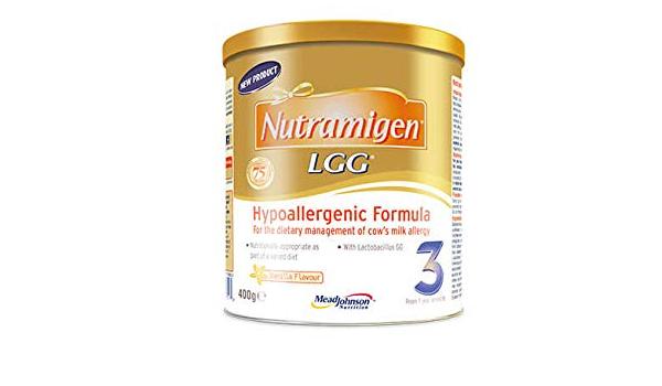 Nutramigen 3 LGG sabor a vainilla