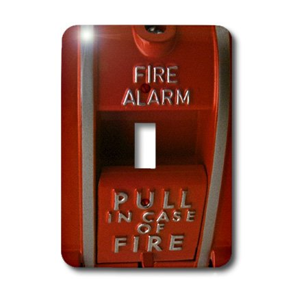 - 3dRose lsp_33152_1 Red Fire Box Toggle Switch, Multi-Color