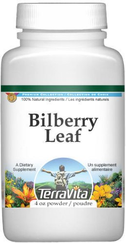 Bilberry Leaf Powder (4 oz, ZIN: 510962)