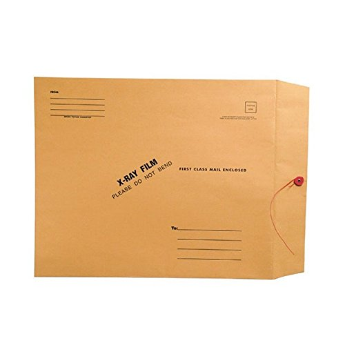 (X-Ray Film Mailers, 32lb Brown Kraft, 15