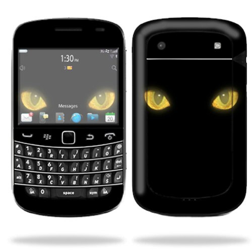 Mightyskins Protective Skin Decal Cover for Blackberry Bold 9900 or 9930 Cell Phone wrap sticker skins Cat Eyes