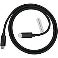 [Certified] Plugable Thunderbolt 3 20Gbps USB-C Cable (3.3/1m, 3A/60W, Thunderbolt and USB Compatible)