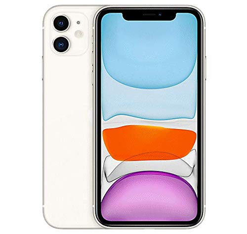 Amazon.com: Apple iPhone 11, 128GB, Unlocked - White (Renewed)