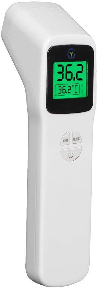 Digital Forehead Thermomete Infrared Body Temporal Temperature Check for Childs//Adults General,Canada in Stock