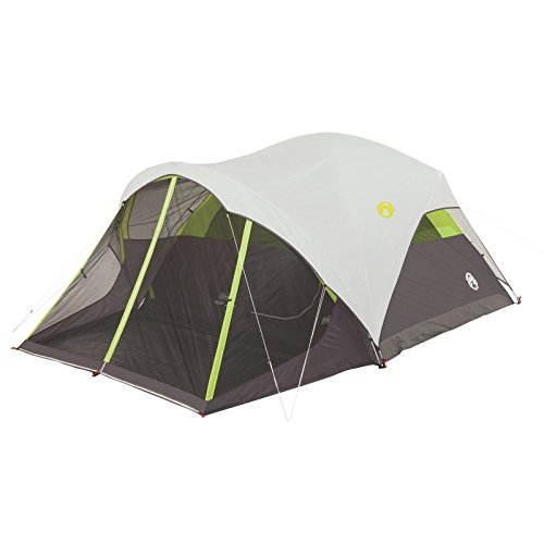 Person Dome Tent (STEEL CREEK FAST PITCH 6-PERSON DOME TENT WITH SCREEN ROOM)