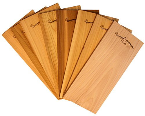 Find Bargain 7x15 Cedar Grilling Planks (8 Pack) - Extra Large, Extra Wide, Extra Thick - Organic ...