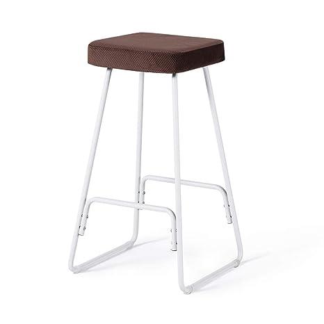 Amazon.com: QQXX Bar Stools/Bar Chair/Kitchen Chair ...