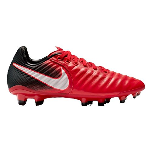 (Nike Junior Tiempo Legend VII FG Football Boots 897728 Soccer Cleats (UK 3.5 us 4Y EU 36, University red White Black 616))
