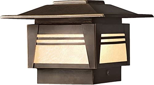Kichler 15071OZ, Zen Garden Low Volt Solid Brass Landscape Deck Lighting Xenon, Olde Bronze