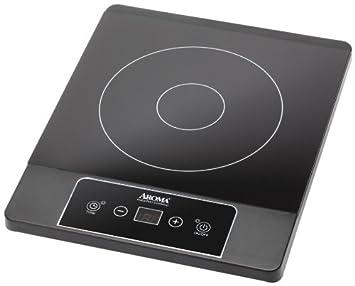 aroma housewares aid 506 induction hot plate black amazon com  aroma housewares aid 506 induction hot plate black      rh   amazon com