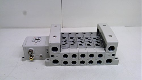 Smc Vv8015-03F-Sdnn0-W1, Manifold, G Thread, W/O Input Block, Size 01 Vv8015-03F-Sdnn0-W1 by SMC Corporation