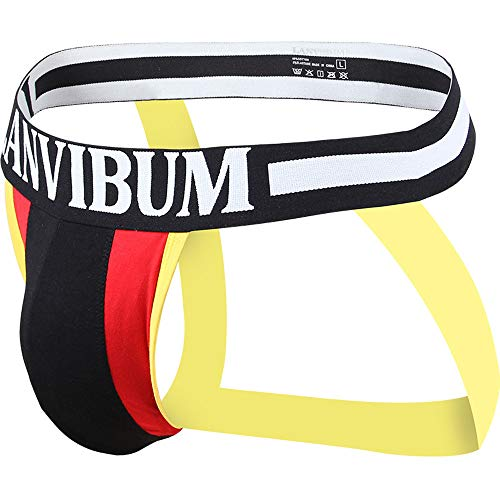 Men's New Sexy Fashion Colour Underwear Low Waist Bump Bump Into Color Underwear by Malbaba