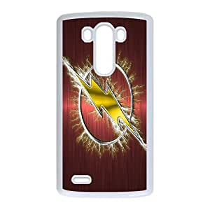 LG G3 Cell Phone Case White The Flash azyv