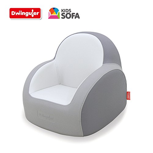 Dwinguler Kids Sofa, Dove Grey by Dwinguler