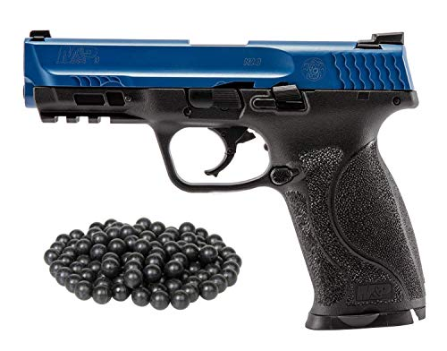 T4E S&W M&P9 M2 LE .43cal Co2 Semi Auto BlowBack Paintball Pistol W/Free 50ct Rubber Balls. (Free Gun Paintball)