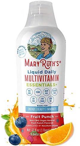 Liquid Multivitamin MaryRuth Organic Elderberry