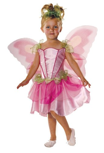 Springtime Fairy Childrens Costumes (Let's Pretend Child's Springtime Fairy Costume with Wings, Small)