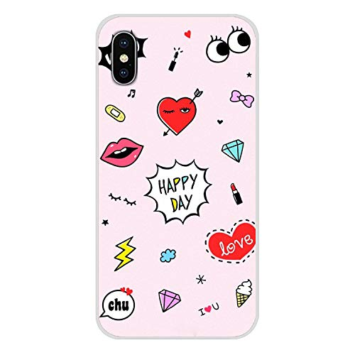 for iPhone X XR XS MAX 4 4S 5 5S 5C SE 6 6S 7 8 Plus iPod Touch 5 6 Accessories Phone Shell Covers Chiara Ferragni Eyes,Images 10,for iPhone 6S Plus (Ipod Touch 4 Gameboy Case)