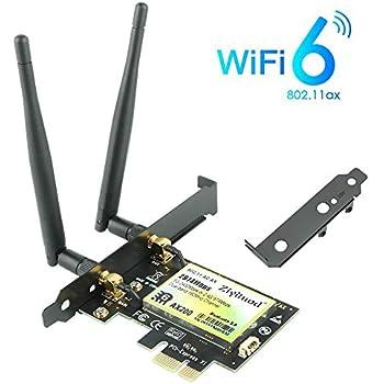 Amazon.com: Ziyituod AX200 WiFi 6 Card, AX2974Mbps Wireless ...